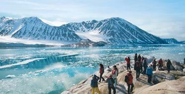 Svalbard, kryssning i Arktis, polarexpedition, expeditionskryssning